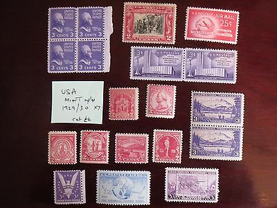 UNITED STATES early mint STAMPS