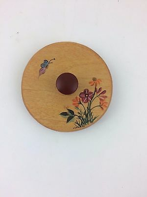 Basket Accessories 2002 Horizon of Hope or Pen Pal Painted LID ONLY