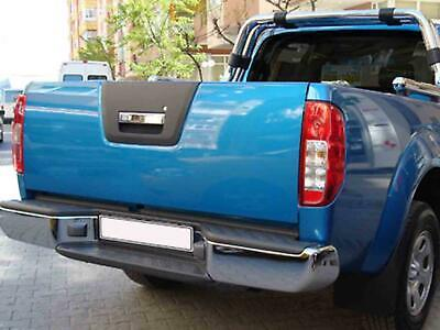 Chrome Stainless Steel Tailgate Rear Grab Handle Cover for Nissan Navara (10-15)