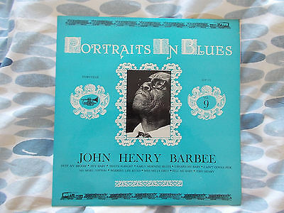 Ultra-Rare John Henry Barbee Uk Storyville Lp  - Mint First Pressing! Amazing!!