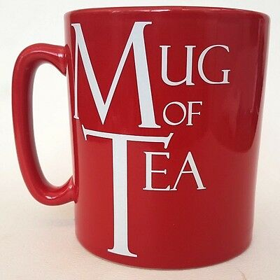 The Old Pottery Company Giant Red Mug Oversized Mug Of Tea Mug FREE Shipping