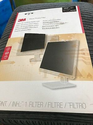3m Black Privacy Screen PF23.0W9