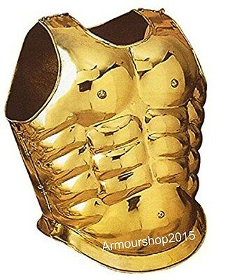 Roman Muscle Armor Brass Jacket Collectible Replica Costume