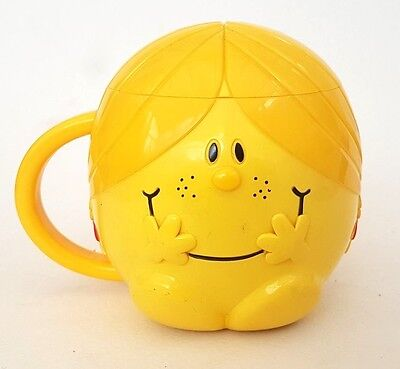Little Miss Mug Plastic Lidded Children's Mug FREE Shipping 2003 Thoip