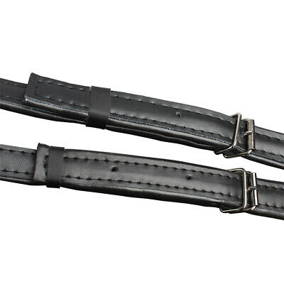 Deluxe Adjustable Portable Genuine Leather Shoulder Straps for Accordion