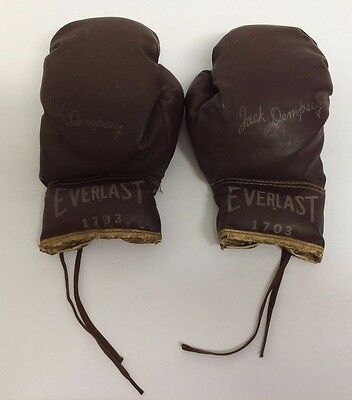 Jack Dempsey 1703 Everlast Youth Kids Boxing Gloves GOOD CONDITION