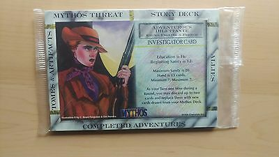 Mythos: Limited Edition, Sealed Mint Set of Investigators (Chaosium, 1996)