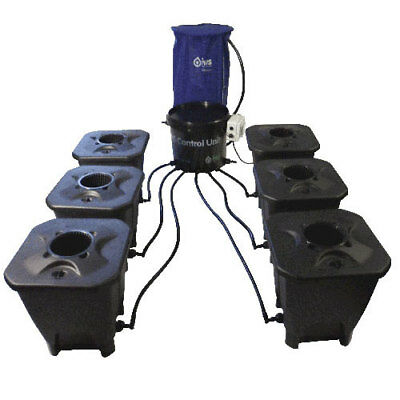 IWS Deep Water Culture System 12 Pot inkl. Flextank 250l Hydro Hydrosystem Grow