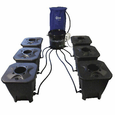 IWS Deep Water Culture System 24 Pot inkl. Flextank 400l Hydro Hydrosystem Grow