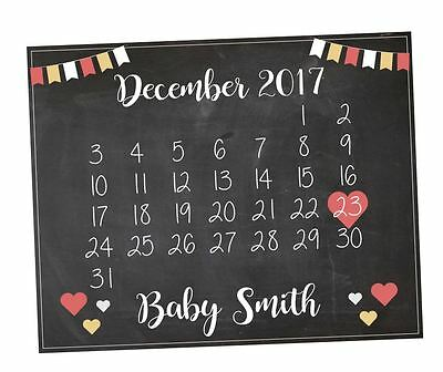 Pregnancy Announcement Sign. Pregnancy Reveal Sign. Maternity Shoot Photo Prop.