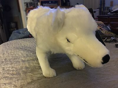"Game Of Thrones GHOST White Wolf Direwolf 17"" Plush Jon Snow HBO Stuffed NEW"