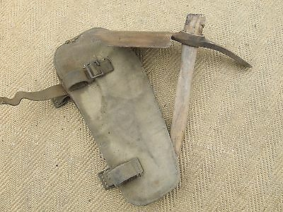 WW2 1941 Military Entrenching Tool Shovel and Cover
