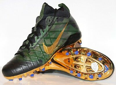 NEW NIKE FIELD GENERAL 3 ELITE TD Football Cleats CAMO Green Gold Men 833390-371