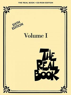 The Real Book on CDROM - Vol 1 - 6th Ed - C Ed - SHEET MUSIC 000451087