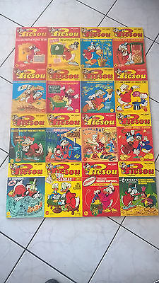 lot picsou magazine 1 /2/3/4/5/6/7/8/9/14/16/29/35/36/66/73