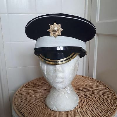 Coldstream Guards Lance Sgt Peaked Hat And Badge Size 56