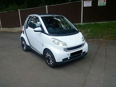 2010 Smart fortwo 1.0 ( 84bhp ) Semi-A Passion Convertible