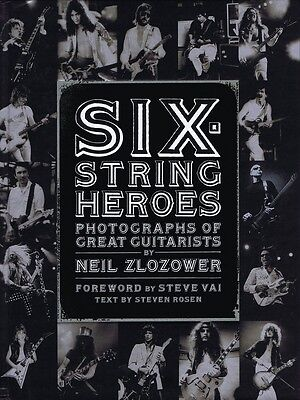 Six-String Heroes Book Hardcover NEW 000332998