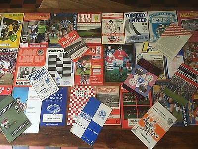 Collection of 1960s + Programmes, covering nearly 60 Years and All Listed.