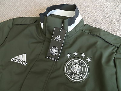 M XL XXL ADIDAS GERMANY TRAVEL JACKET NEW TAGS football soccer calcio