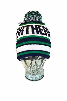 Northern Ireland Football Bobble Hat Knitted NI National Colours