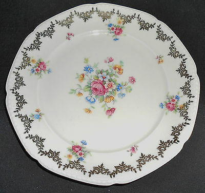 "Mitterteich Orphans - (1) Tea Cup Only and (1) 7.5"" Salad/Side Plate"