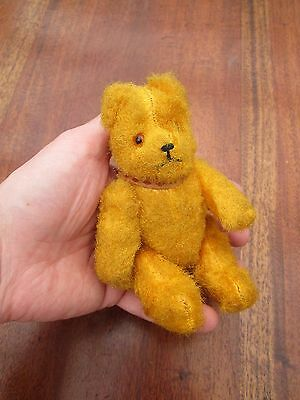 Lovely Antique Teddy Bear - Jointed Arms Legs & Head - Beautiful - Circa 1920