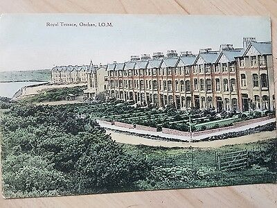 Vintage Isle Of Man Postcard. Royal Terrace, Onchan