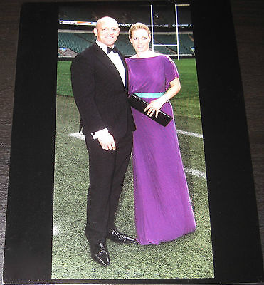 Zara Phillips and Mike Tindall Portrait Postcard