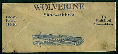 1935 Wolverine Shoe & Glove Corp. Horse Hide Shoes Advertising Cover-Rockford,MI