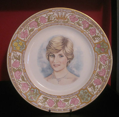 Princess Diana 21st Birthday Plate - Caverswall - LE 503/1000