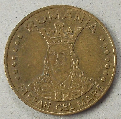 ROMANIA 20 Lei coin * 1992 * Stephen the Great * KM#109 (KQ55)