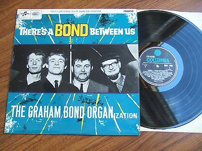THE GRAHAM BOND ORGANISATION -THERE'S A BOND BETWEEN US - 1st COLUMBIA 33SX 1750