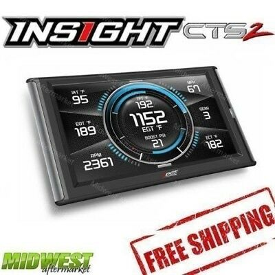 Edge Insight CTS2 Gauge Monitor for 2011-2016 Ford F-250 F-350 6.7L Powerstroke