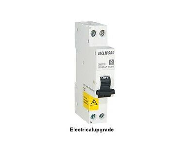 Clipsal Offer Single Module RCBO 2 Pole RCBE216/30S 240V 4.5kA 16A