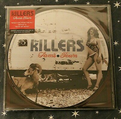 The Killers ‎– Sam's Town LP PICTURE DISC VINYL 2006.  NEW AND SEALED