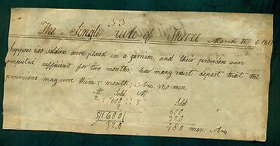 1817 Double Sided School Math Problems Paper