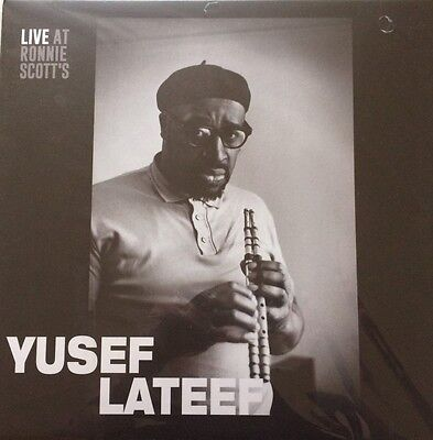 Yusef Lateef Lp Jazz Mint Live Ronnie Scott's Mint Sealed Free Uk P&p