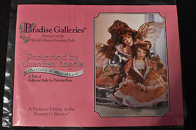 Treasure Collection! Paradis Galleries Porcelain Dolls! Marissa & Her Angel!