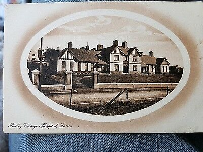 OLD POSTCARD. SMILEY COTTAGE HOSPITAL, LARNE, Co ANTRIM