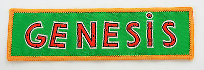 GENESIS 'Name' Vintage Woven Patch