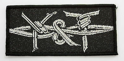 Y&T 'Barbed Wire Logo' Vintage Woven Patch