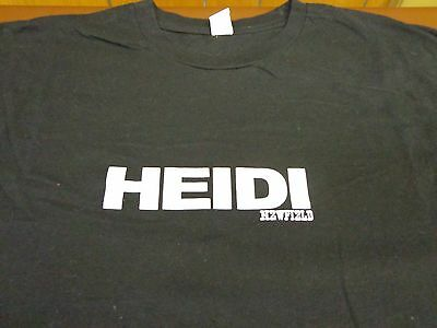 HEIDI NEWFIELD Concert Country Music Tour T Shirt 2XL  XXL Black Trick Pony W1