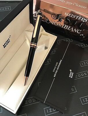 Montblanc Meisterstück Red Gold 164 Classique Ball Point Pen - NEVER USED