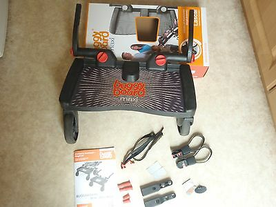 Lascal Buggy board Maxi with uncut connectors, all parts and manual in box