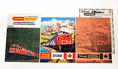Vintage Meccano 1973 Hornby & 1966 Triang Train Catalogs
