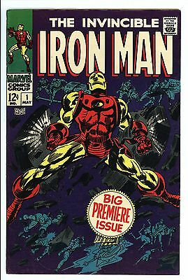 Iron Man #1 Vol 1 Near Perfect High Grade Origin of Iron Man Retold 1968