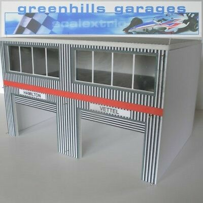 Greenhills Scalextric Slot Car Building Modern Pit Boxes Kit 1:32 scale – Bra...
