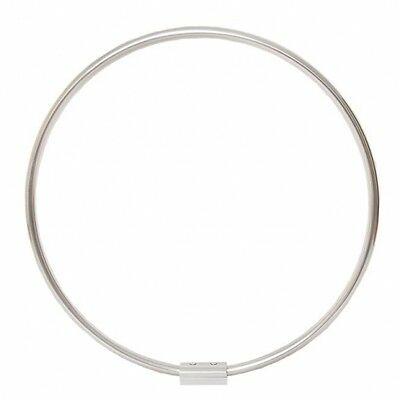 Round shower curtain rail rod fi 90 cm