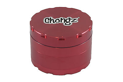 Chongz Non-Stick Metal Grinder 63mm (Various Colours)